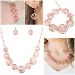 All The Time in The Whirl NecklaceBraceletEarrings